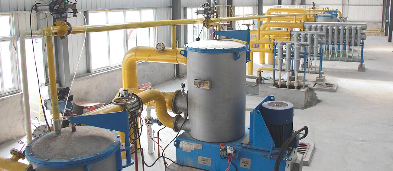 Pressure Screen works with Low Density Cleaner