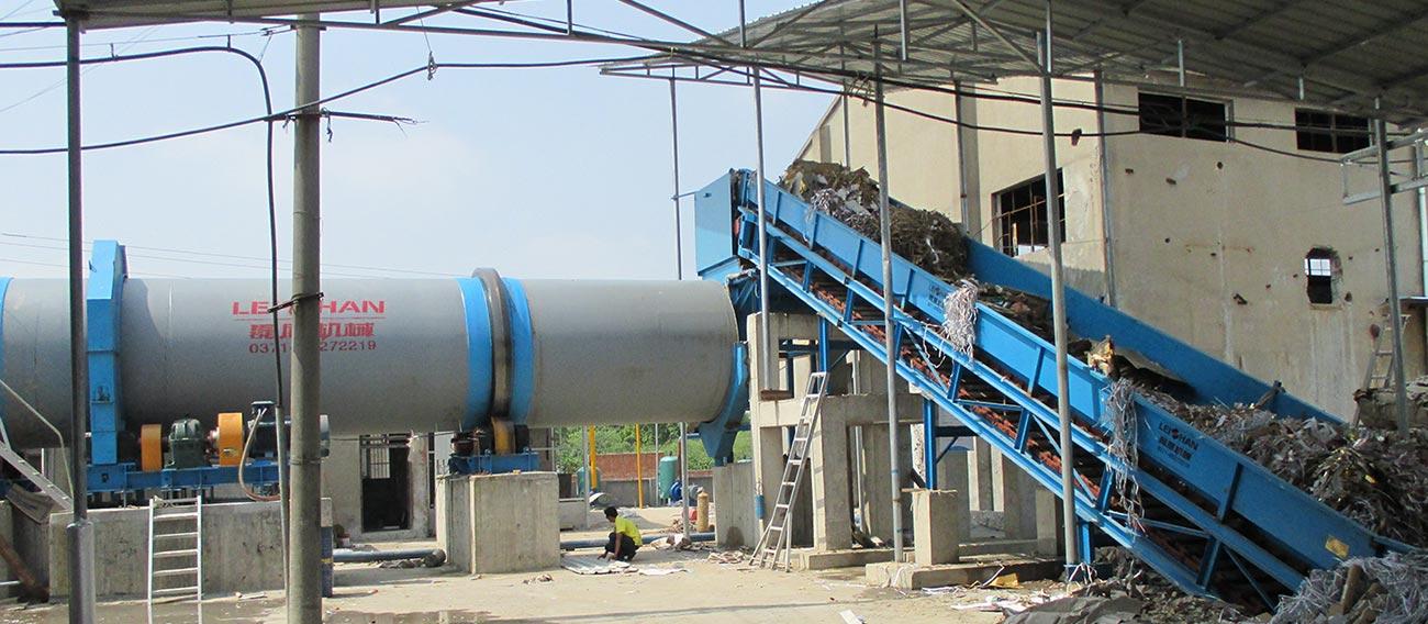Drum Pulper & Waste Paper Chain Conveyor
