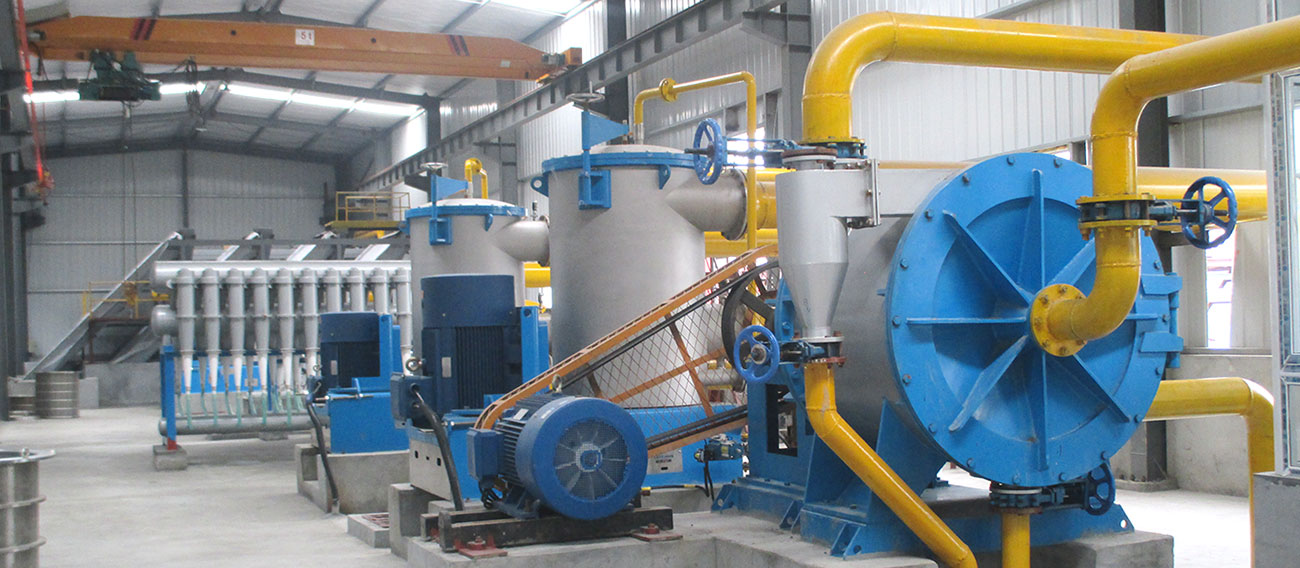 Corrugated Paper Pulping Line in Paper Mill
