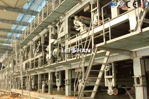 5500mm kraft paper machine