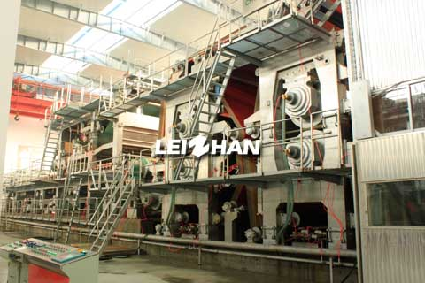 double layer test liner paper machine